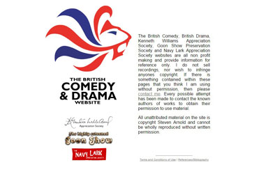 British Comedy And Drama Website